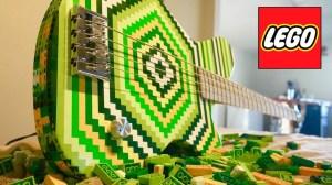 LEGO Bass Guitar
