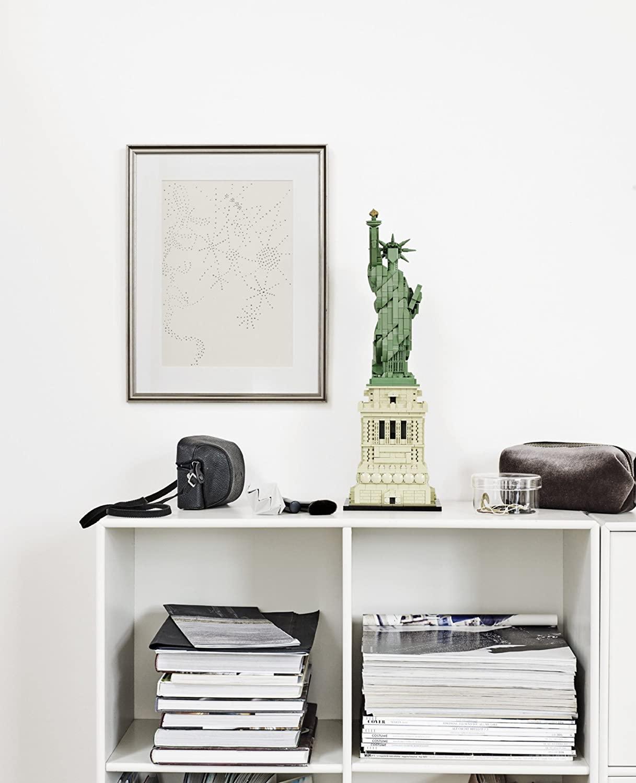 LEGO Statue of Liberty on Shelf