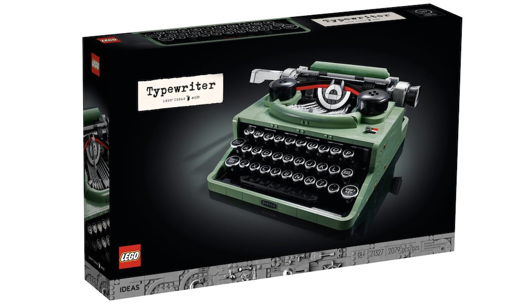 LEGO Typewriter Box