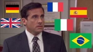 Michael Scott Screams at Toby's return in 6 Languages