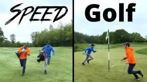 Playing Speed Golf