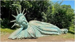 Reclining Liberty Zaq Landsberg Morningside Park