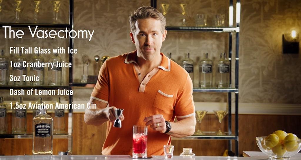 Ryan Reynolds' Vasectomy Cocktail