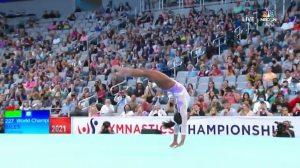 Simone Biles in Extreme Slow Motion