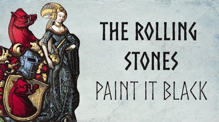 The Rolling Stones Paint It Black