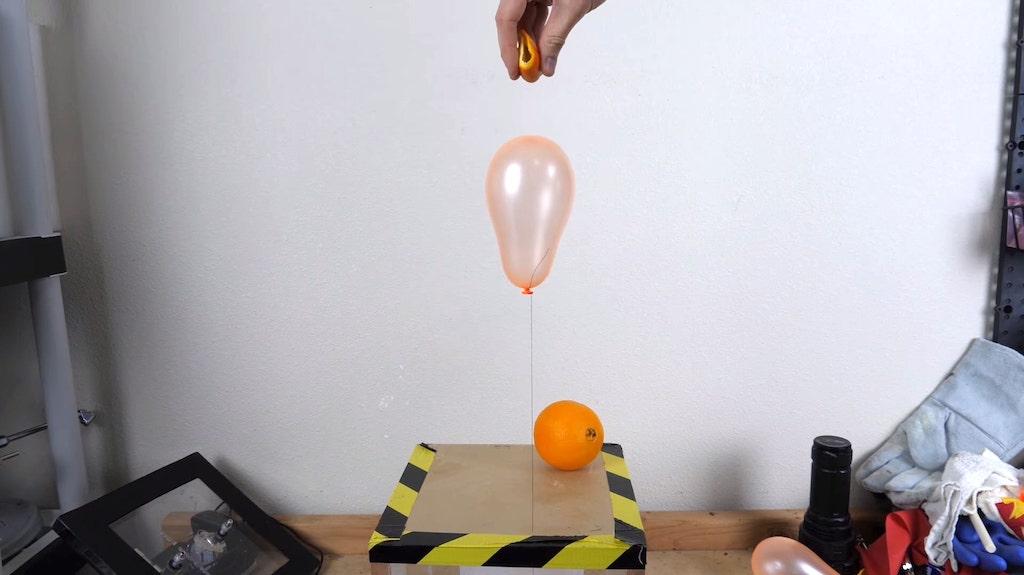 Why Orange Peel Causes Balloons To Pop