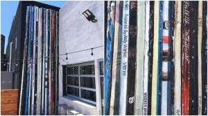 20 Favorite Vinyl Albums Mural on Reno Brewery
