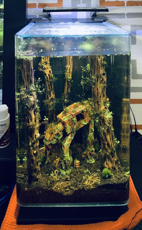 AT AT Aquarium Star Wars