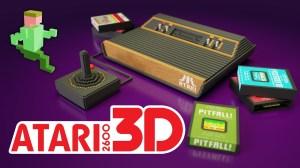 Atari 2600 in 3D Animation