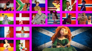 Disney Characters Singing in Their Native Language