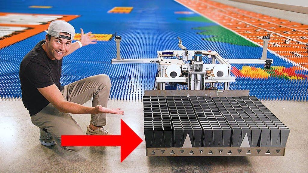 Dominator Robot Set Up 102K Dominos