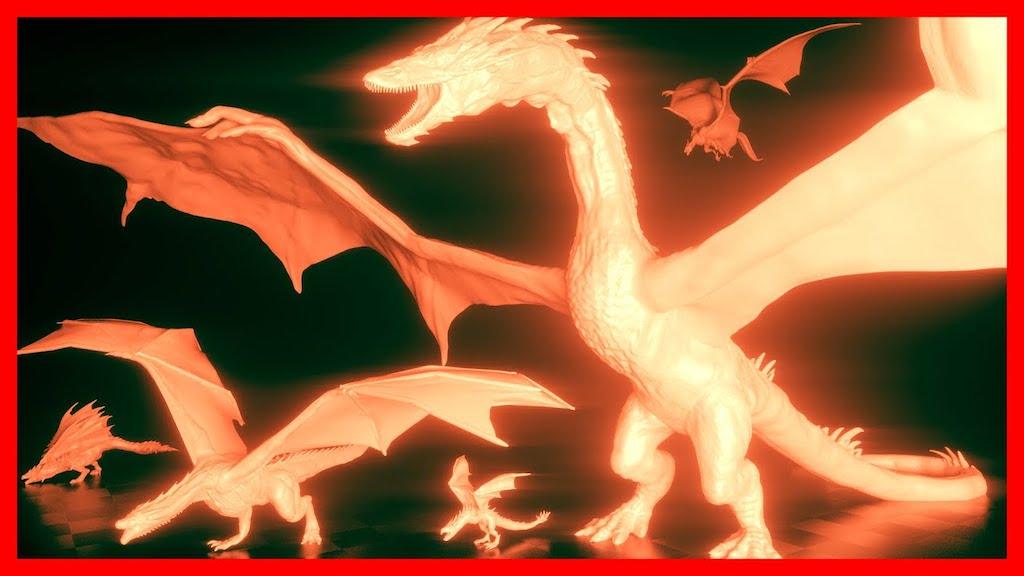 Fictional Dragon Comparison