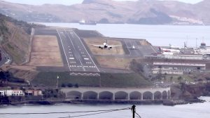 Flying into Europe Most Challenging Airport Funchal Madeira