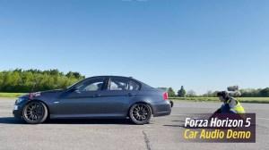 Forza Horizon 5 Car Audio Demo