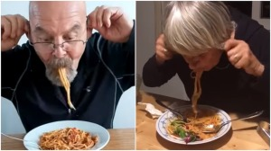 How to Eat Spaghetti by Twisting Your Ears