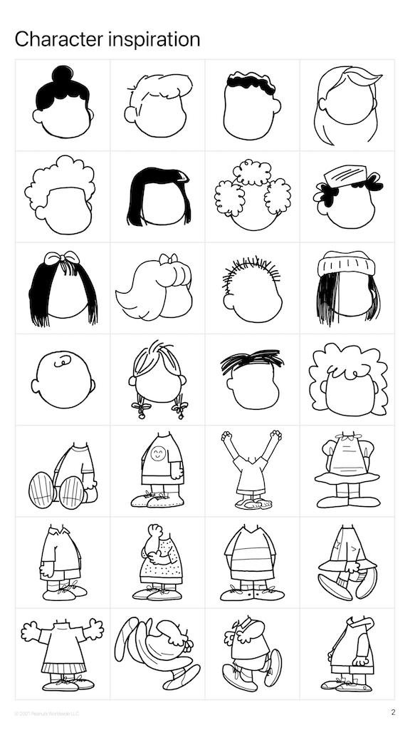Inspiration for Peanuts Character