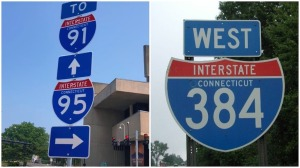 Interstate Numbers Contiguous US