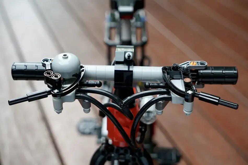 LEGO Bicycle Handlebars