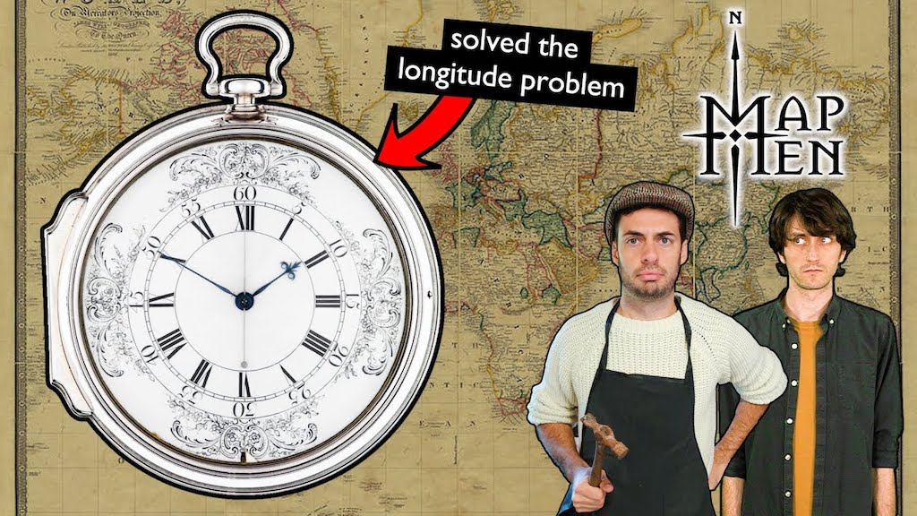 Map Men Longitude Problem