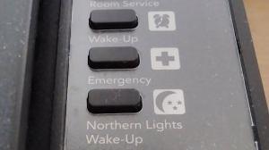 Northern Lights Wakeup Call