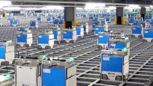Ocado The Hive Robot Grocery Shopping