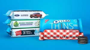 Oreo Cookie Camouflaging Packages