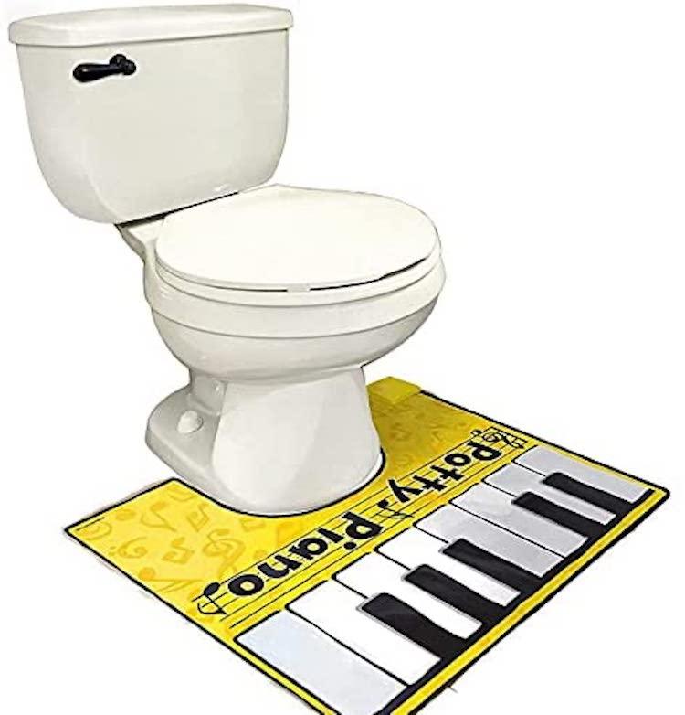 Potty Piano Toilet