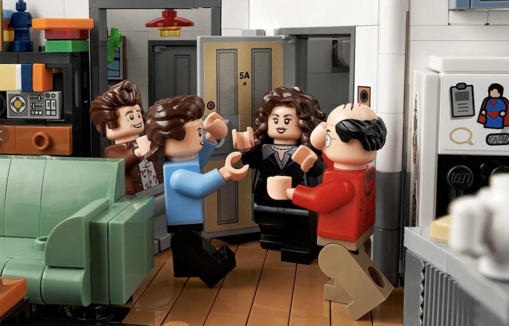 Seinfeld LEGO Kitchen