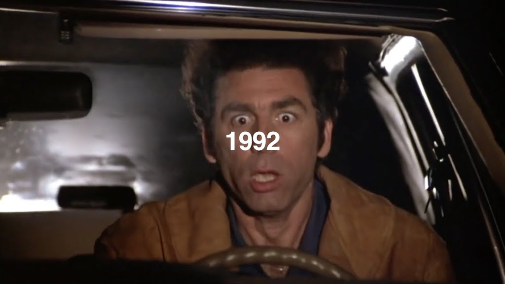 Seinfeld Theme Remixed With Song From Each Year