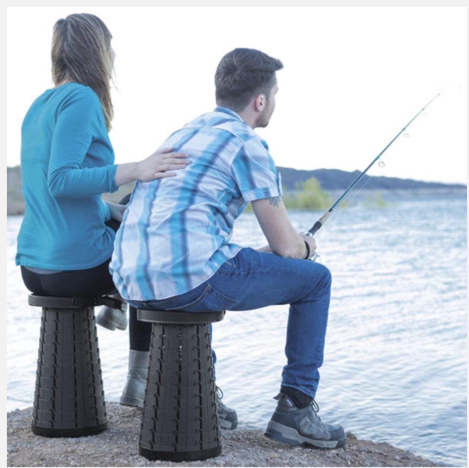 Telescoping Stool Fishing