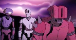 The Desert Robots