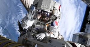 Thomas Pesquet Spacewalk Wave