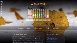 myNoise Interactive Soundscape Generator