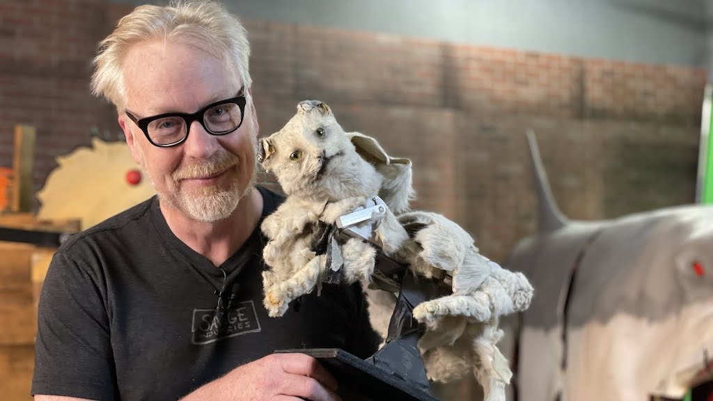 Creepiest MythBusters Prop Ever