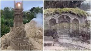 Dark Tower Bilbo Baggins House Sandcastles