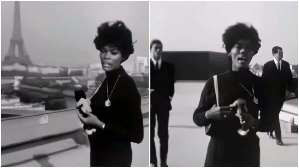 Dionne Warwick 1964 Walk on By