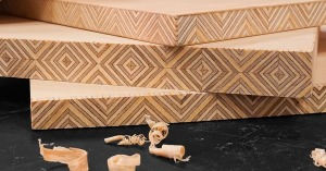 Edge-Grain Patterned Plywood