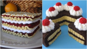 Fiber Rich Crocheted Food