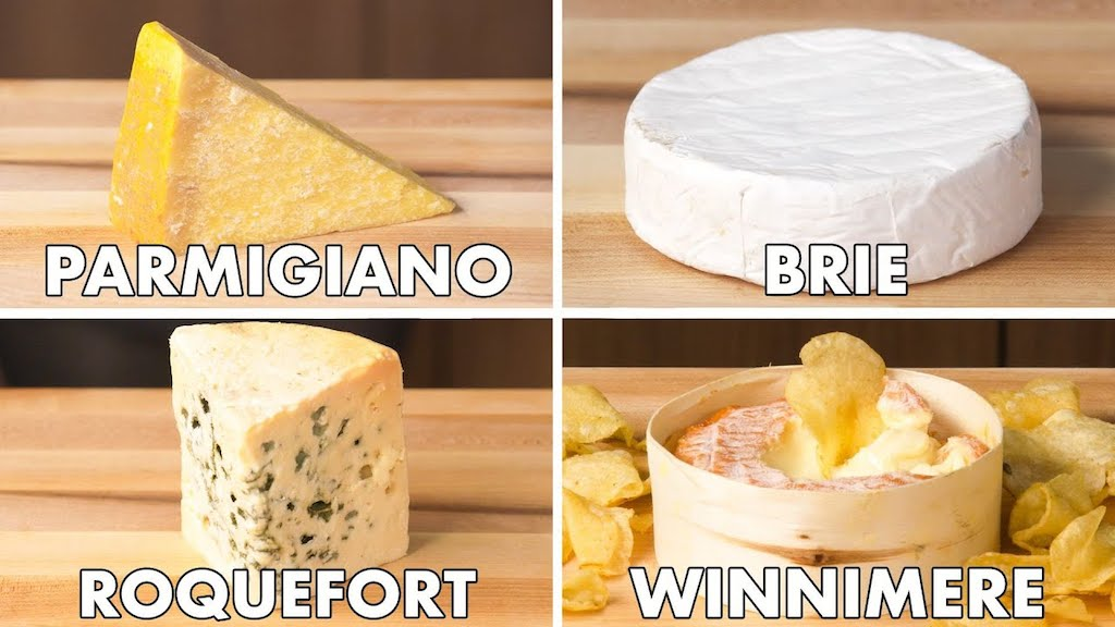 How to Cut and Serve Different Cheeses