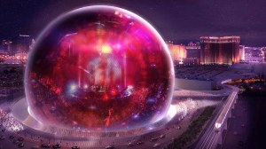 Las Vegas MSG Sphere Largest in the World