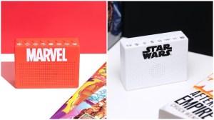 Marvel and Star Wars Sound Effect Machines