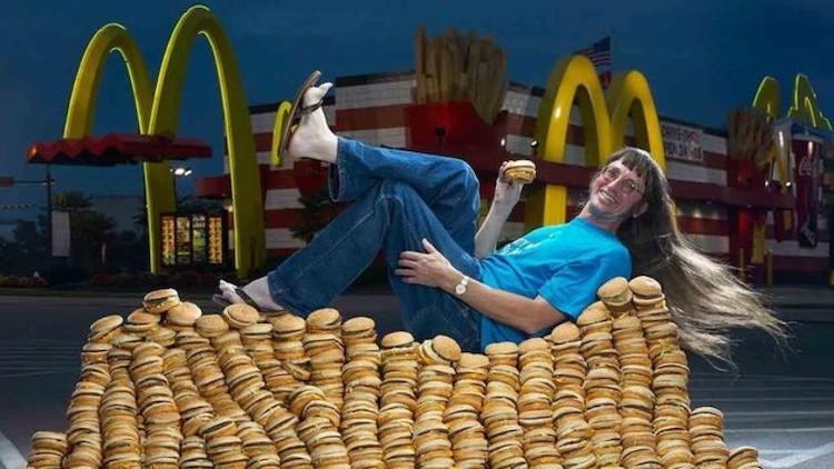 Most Big Macs Eaten in a Lifetime