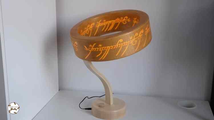 One Ring Lord of the Rings Lamp