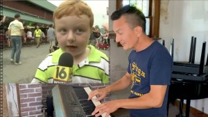 Pianist Provides Lively Soundtrack to Apparently Kid