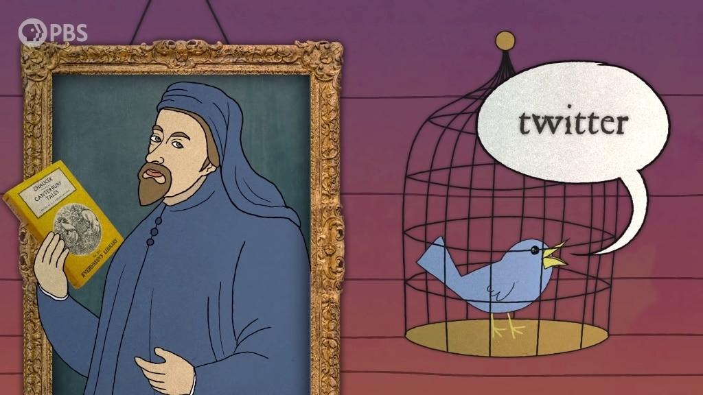 Twitter Chaucer