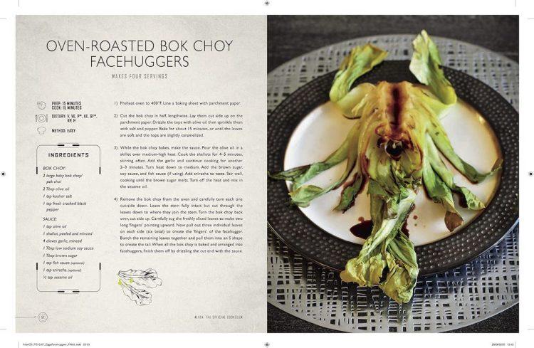 Alien Cookbook Bok Choy FaceHuggers