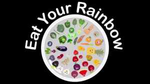 Eat Your Rainbow Fruits and Veggies