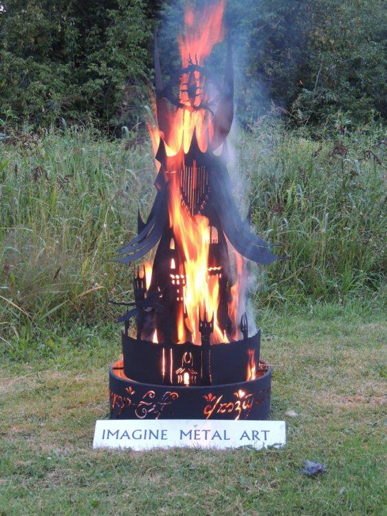 Eye of Sauron Metal Fire Pit