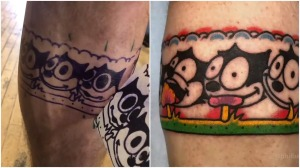 Felix the Cat Animated Tattoo
