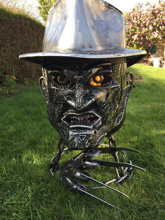 Freddy Krueger Fire Pit Day